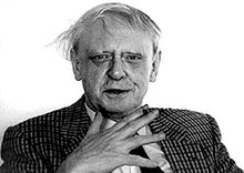 Anthony Burgess in 1986