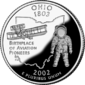Ohio quarter dollar coin