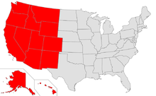 Map of USA highlighting West.png