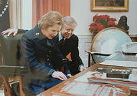 photograph of Thatcher and Carter