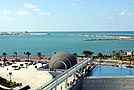 Coast of Alexandria, A view From Bibliotheca Alexandrina, Egypt.jpg