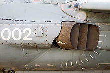 Nozzel of a Harrier, used to direct the engine's thrust