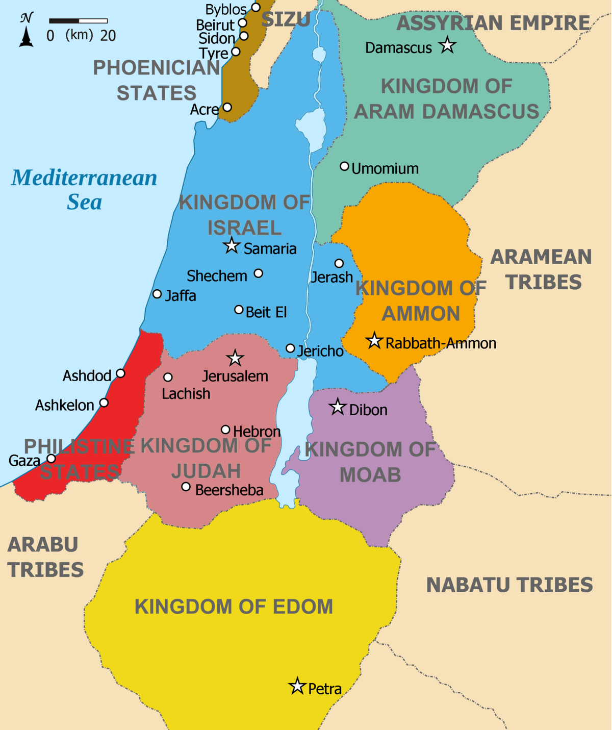 an overview of ancient middle east