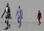 Example of Computer animation produced using Motion capture