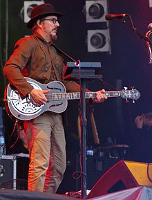 Claypool performing in July 2011
