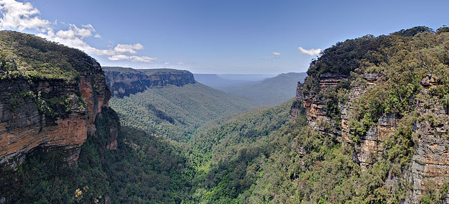 Jamison Valley, Blue Mountains, Australia