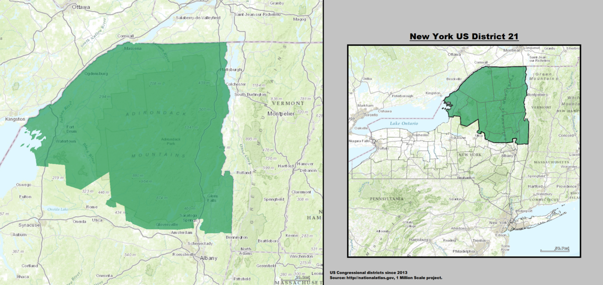 New York\'s 21st congressional district - Wikipediam.org