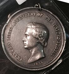 Photograph of Indian Peace Medal