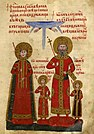 A miniature from the Gospels of Tsar Ivan Alexander