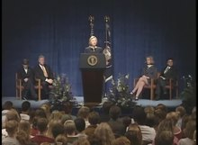 File:President Clinton's Remarks to the Columbine High School Community.webm