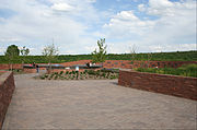 Columbine Memorial as it appeared in 2008