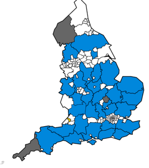 Map of the results of the United Kingdom local elections 2009.png