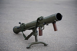 Carl Gustaf recoilless rifle