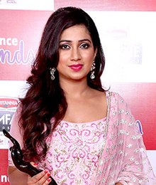 Shreya Ghoshal - Wikipediam org