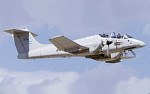 Argentina Air Force FMA IA-58A Pucara (mod).jpg