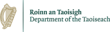Logo of the Department of the Taoiseach as of April 2018.png