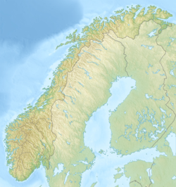 Galdhøpiggen is located in Norway