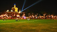 "The UST Campus during the annual ""Paskuhan"""