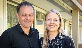 Sian Berry and Jonathan Bartley