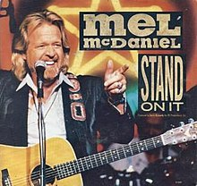 Mel McDaniel - Stand On It single cover.JPG