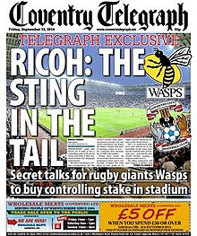 Coventry Telegraph front page.jpg